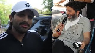 Allu Arjun and Trivikram's most awaited movie 'On Location..