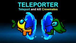 Using Teleport HACKS In Among Us