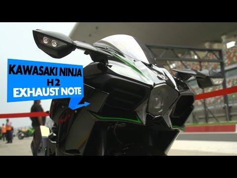 Kawasaki Ninja H2 Stock Exhaust Note : PowerDrift