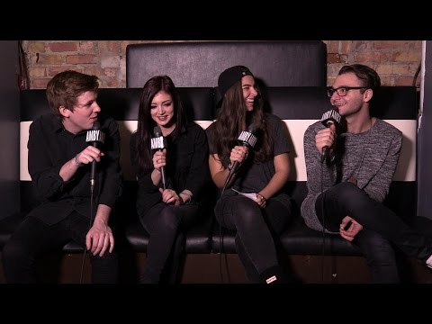 Interview with Against The Current