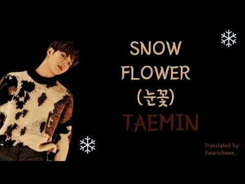 TAEMIN (태민) - Snow Flower (눈꽃) Lyrics (HAN/ROM/ENG)