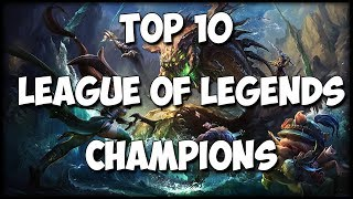 The Top 10 Best Designed Champions in League of Legends