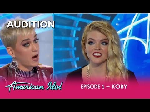 Koby: She's Got ATTITUDE and Gets a Katy Perry Reality Check!  | American Idol 2018