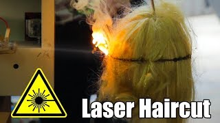Can a Laser Cut Hair?