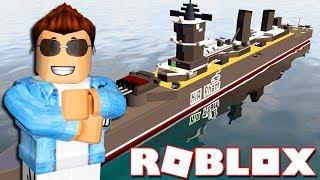 Roblox | BỎ TIỀN XÂY DỰNG CHIẾN HẠM SIÊU KHỦNG - Battleship Tycoon | KiA Phạm