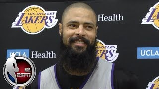 Tyson Chandler excited to join Lakers, play with LeBron James | NBA on ESPN