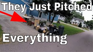 Craziest Things People Throw in the Trash