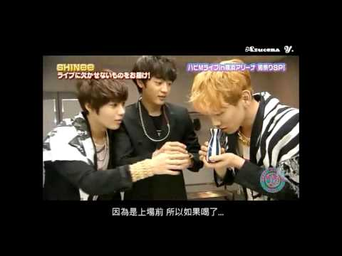 【中字 121201 Happy Music】SHINee休息室採訪/SHINee Interview