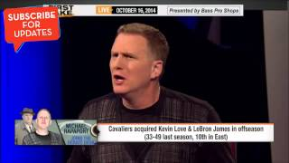 First Take - Michael Rapaport on LeBron Returning to Cleveland