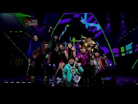 【TVPP】SHINee - Speical stage with (f(x)), 샤이니 - 합동 무대 (with 에프엑스) @ 2012 KMF Live