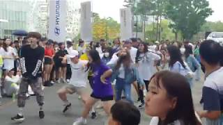 KPOP RANDOM DANCE IN PUBLIC 2019 LOTTE TOWER SEOUL 4TH 190714[4]