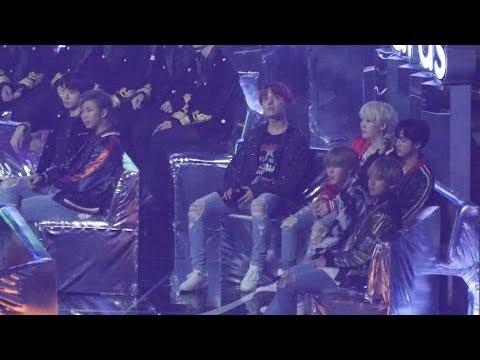 171202 방탄소년단 (BTS) - 엑소(EXO) 코코밥(Ko Ko Bop) 리액션 Reaction [전체] 직캠 Fancam (2017 멜론 뮤직 어워드) by Mera