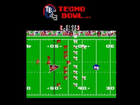 Tecmo Super Bowl 2013 Auburn Missed FG Kick Return in the Iron Bowl