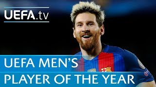 Lionel Messi: 2016/17 UEFA Men's Player of the Year Award nominee