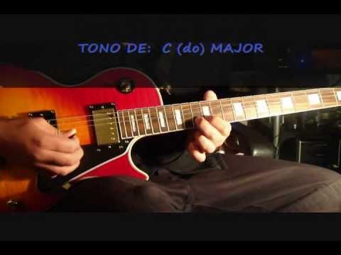 Jesus mi fiel amigo -  solo de guitarra (tutorial)