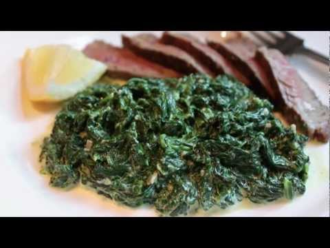 Fast & Easy Creamed Spinach
