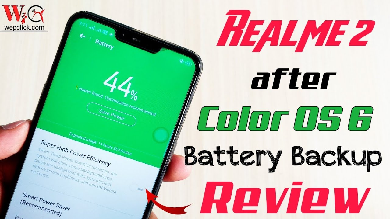 After Color OS 6 Update Realme 2 Battery Backup and Charging Speed Review |  WepClick