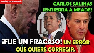 Carlos Salinas ENTIERRA a José Antonio Meade – Campechaneando