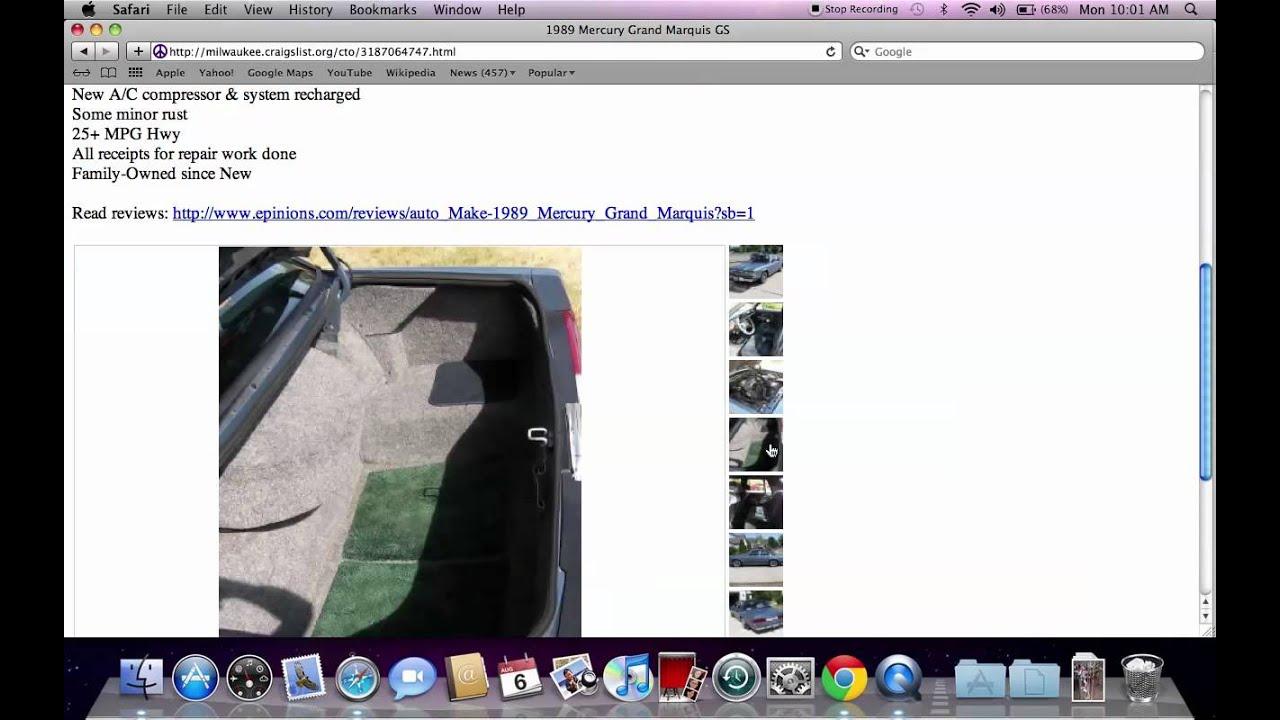 Craigslist Cars Milwaukee: Craigslist Milwaukee Used Cars And Trucks