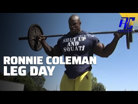 A Day in the Life of Ronnie Coleman- LEG DAY