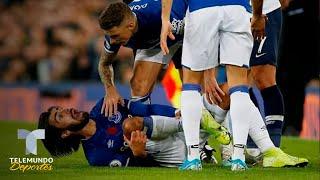 Everton vs. Tottenham: Así fue la terrible lesión de Andre Gomes | Premier League | Telemundo