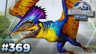 GLACIER HYBRIDS AND NEW TUPUXUARA!! | Jurassic World - The Game - Ep369 HD