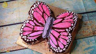 Butterfly Cake | Butterfly Cake Decoration | Birthday Cake Decoration | Yummy Tasty Cake