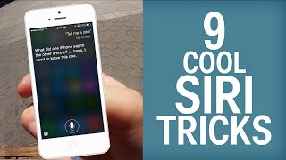 9 Cool Siri Tricks