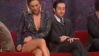 Kaley Cuoco Crossed Legs