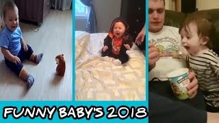 Funny And Cute Babies Laughing With Father and Dogs | Can't STOP Laugh Challenge #8 | Laugh Live Hub
