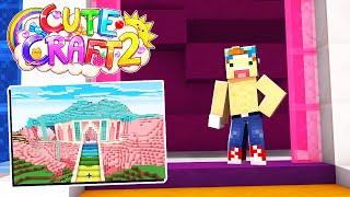 BUILDING MY CUTE HOUSE!! | CuteCraft Season 2 #2