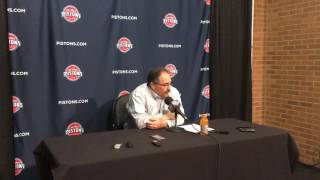 SVG reacts after Pistons' 121-102 win over Lakers