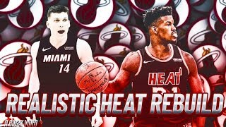 2020 REALISTIC MIAMI HEAT REBUILD! PAT RILEY STRIKES AGAIN! NBA 2K19 MyLEAGUE
