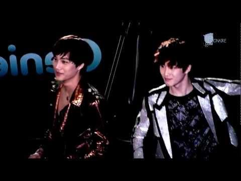 EXO-K KAI & SUHO / 지니AR체험쇼 - 20120602