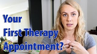 What happens during a first therapy appointment? | Kati Morton