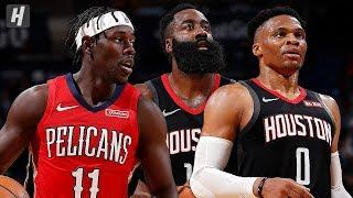 Houston Rockets vs New Orleans Pelicans - Full  Highlights | November 11, 2019 | 2019-20 NBA Season