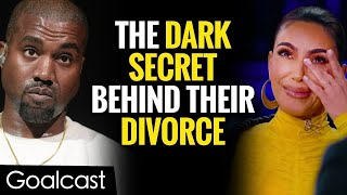 The Shocking Truth Why Kim Kardashian Is Leaving Kanye West   Life Stories by Goalcast