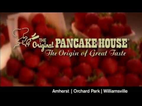 "The Original Pancake House - ""The Origin of Great Taste"" - Strawberries :10 Spot"