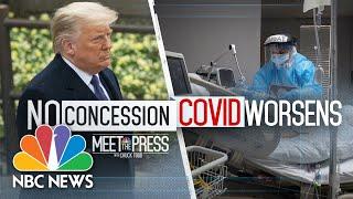 Meet The Press Broadcast (Full) - November 15th, 2020   Meet The Press   NBC News