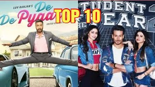 TOP 10 best bollywood movie in 2019 in hindi