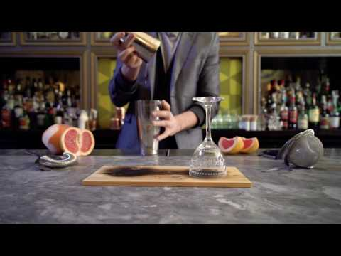 Head bartender Eric Trousdale of Arbella uses a Bernzomatic TS4000 torch to smoke his Laguna Salada cocktail to perfection, created in honor of National Cocktail Day on March 24.