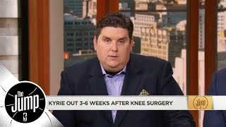 Brian Windhorst on Kyrie Irving: 'No such thing' as minor knee surgery in NBA | The Jump | ESPN