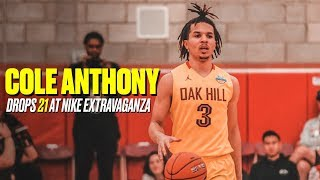 Top-3 2019 Recruit Cole Anthony Leads Oak Hill to Blowout Win - Full Game Highlights