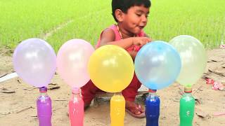 Learn Colors with Balloons and Nursery Rhymes Fun Learning Colors for Kids