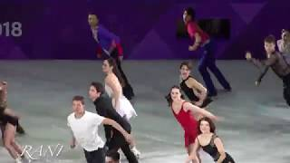 All Skaters Finale 4K 180225 Pyeongchang 2018 Figure Skating Gala Show