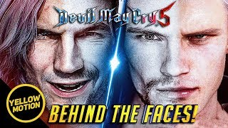 DEVIL MAY CRY 5 Meet Adam and Karlo! The Real Faces Behind Dante and Nero!