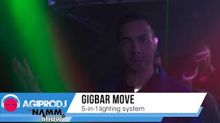 CHAUVET DJ GIGBAR MOVE in action