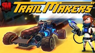 TRAILMAKERS - BUILDING WITH DESTRUCTION! TrailMakers Gameplay First Look