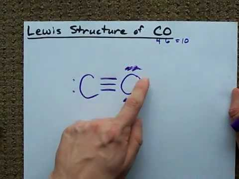 dot diagram of co electron dot diagram of fluorine lewis structure of co (carbon monoxide) - youtube #8