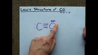 Lewis Structure of CO (Carbon Monoxide)